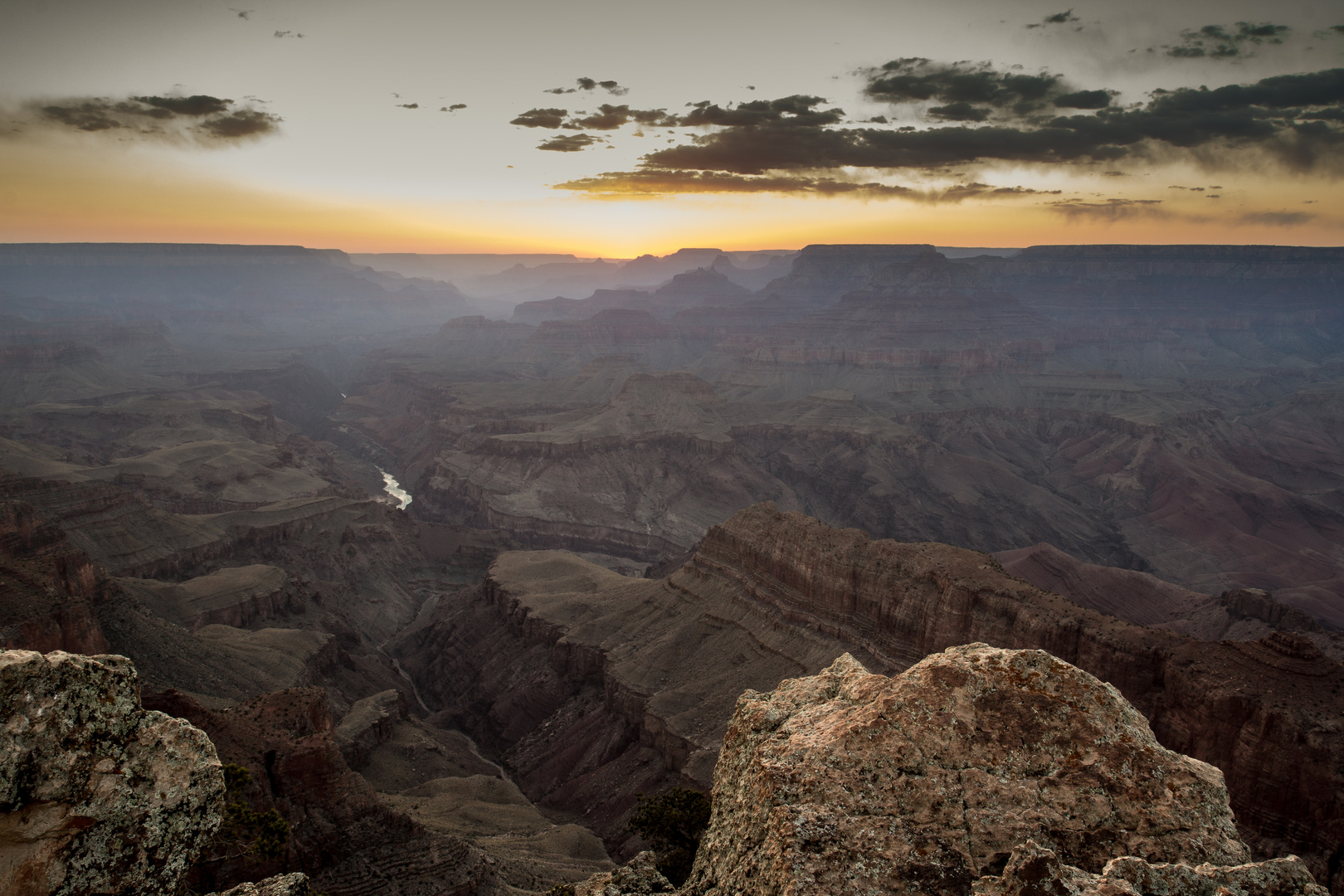 Grand Canyon, Sonnenuntergang