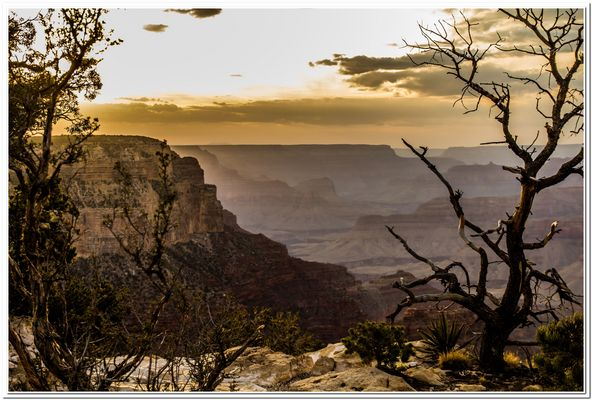 Grand Canyon - Sonnenuntergang