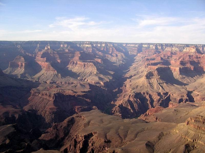 Grand Canyon - Spiel Licht und Schatten