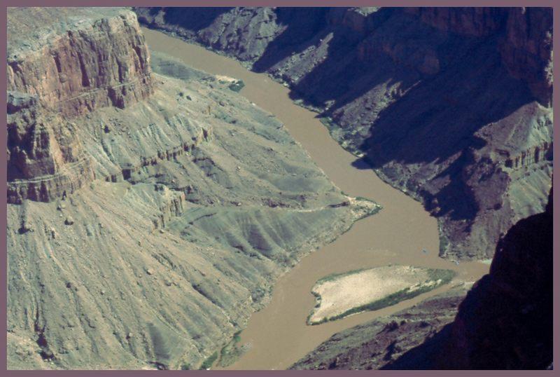 Grand Canyon vom Hubschrauber aus