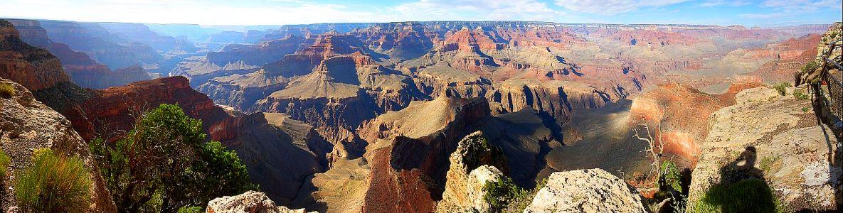 Grand Canyon von south rim gesehen