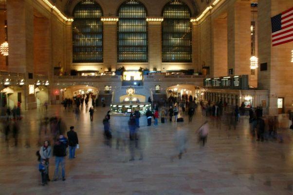 Grand Central Station am Morgen