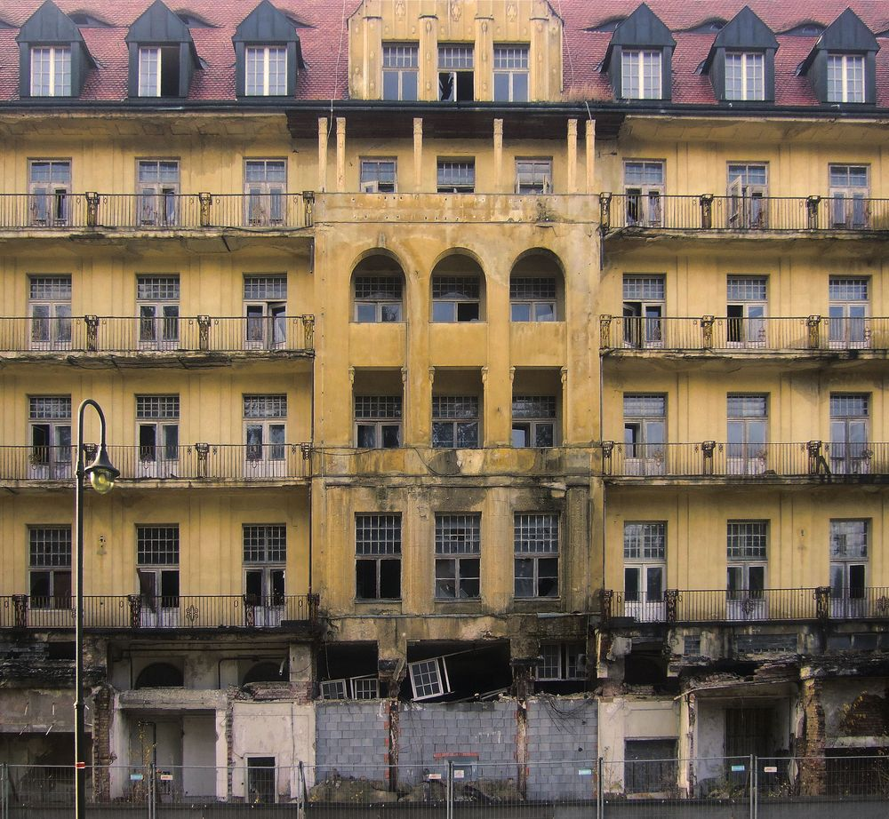 Lost Places Fotos: Grand-Hotel Wettiner Hof Bad Elster