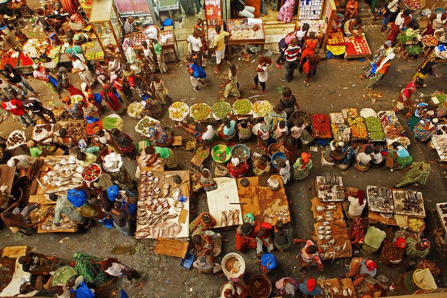 Grand marché d'Adjamé (Abidjan)