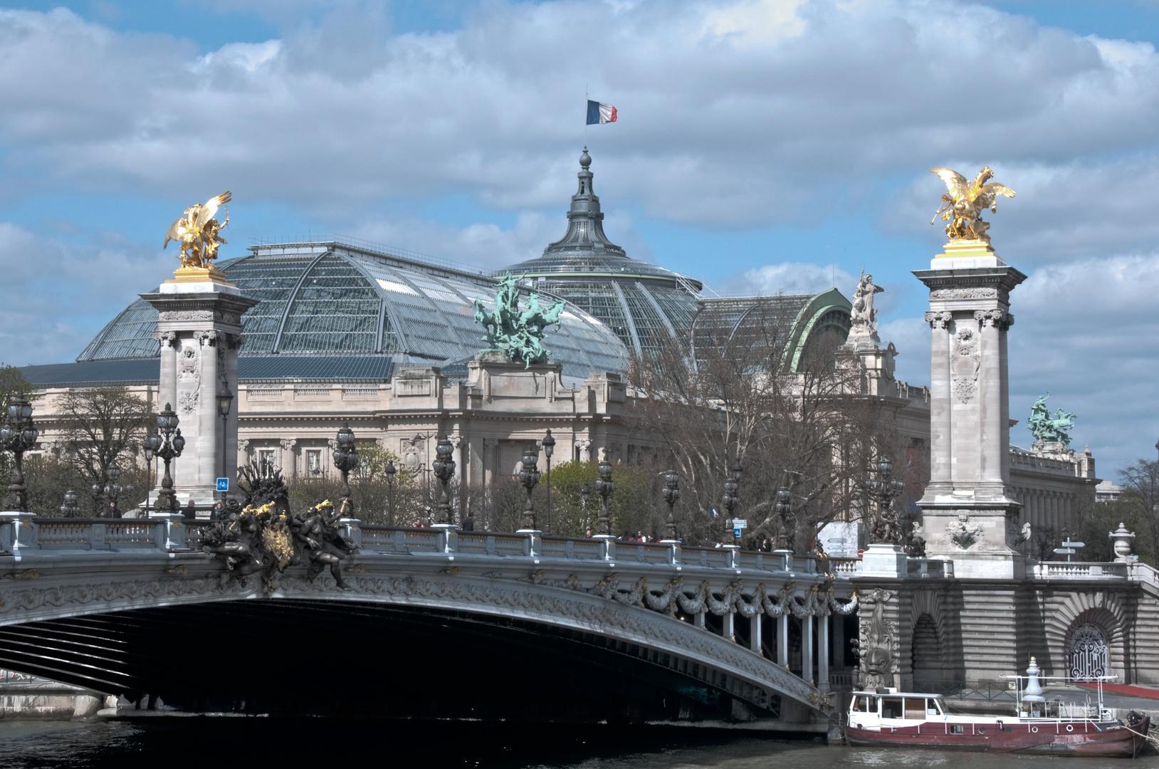 Grand Palais und Pont Alexandre III (1)