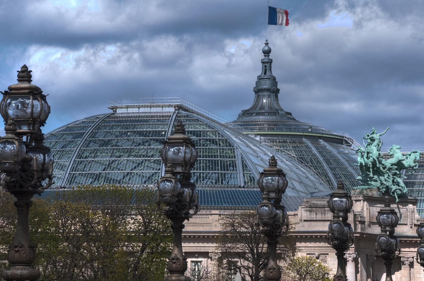 Grand Palais und Pont Alexandre III (2)