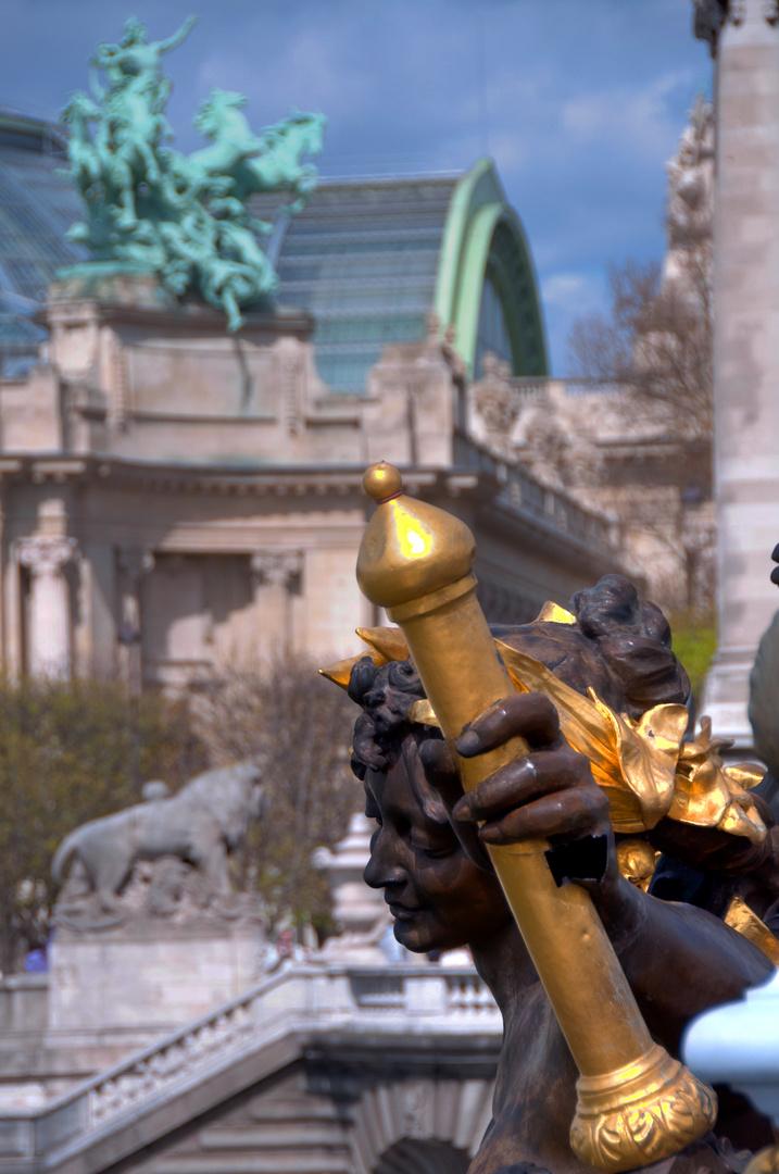 Grand Palais und Pont Alexandre III (4)