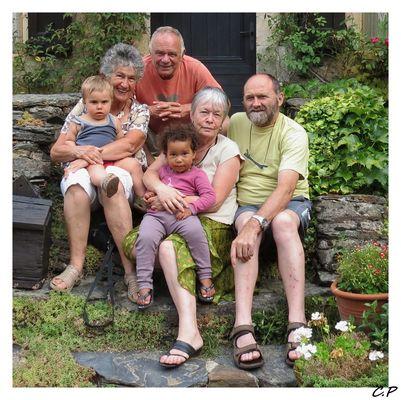 Grand-parents et petits enfants...