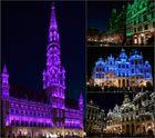 Grand Place bei Nacht...