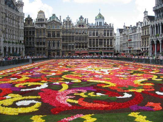 Grand Place - Tapis de fleurs
