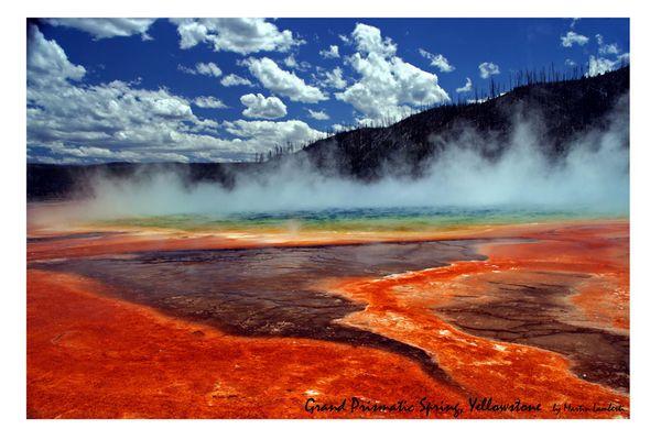 Grand Prismatic Spring im Yellowstone