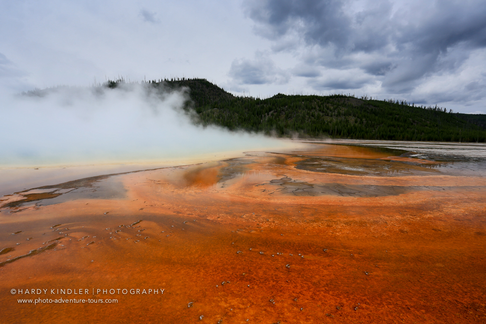 Grand Prismatic Spring, Yellowstone National Park.