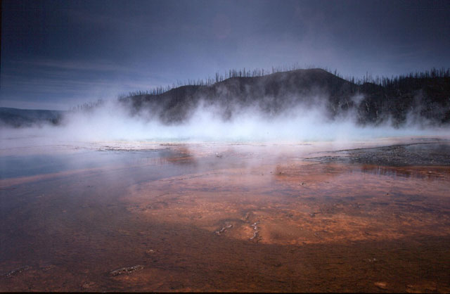 Grand Prismatic Spring, Yellowstone NP, USA