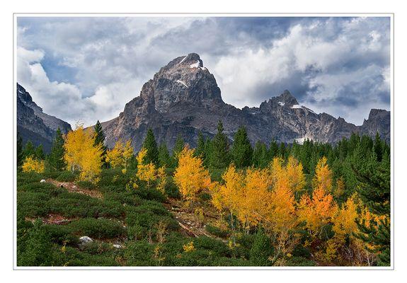 Grand Teton National Park - in Farbe