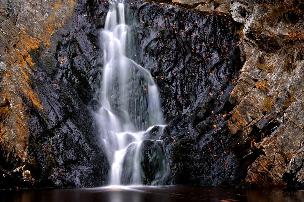 Grande cascade du Bayehon