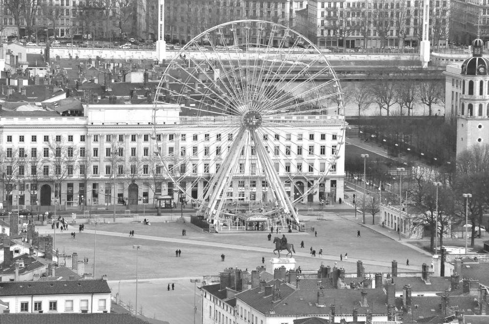 Grande roue _ place Bellecour