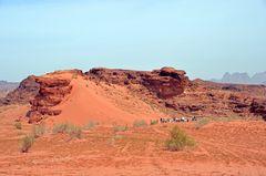 Grandioses Wadi Rum in Jordanien
