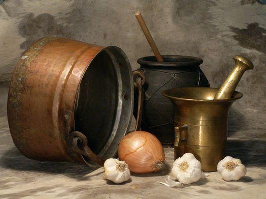 Grandma's pots