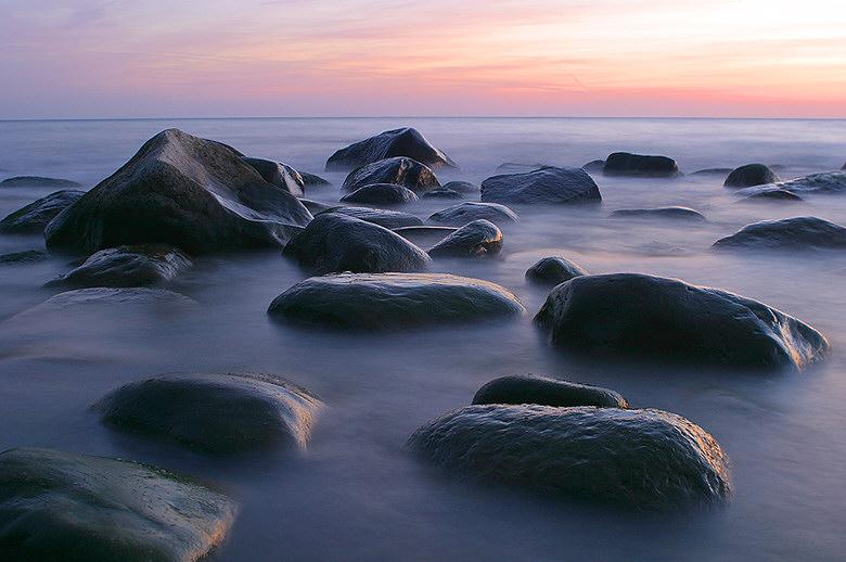 Granitsteine an Jasmunds Küste