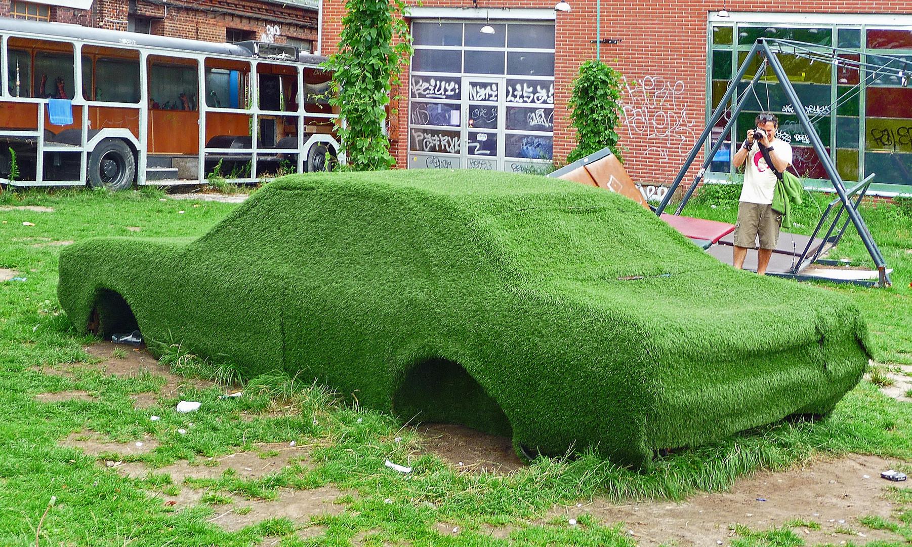 Gras über die Sache wachsen lassen