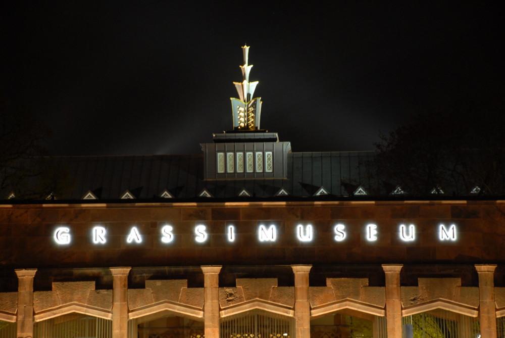 Grassimuseum, Leipzig, während der Wiedereröffnung 2008