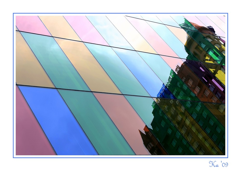 Grattacieli colorati