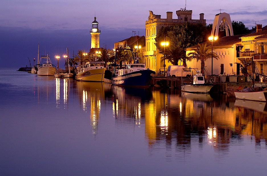 Grau du roi une nuit photo et image europe for Lac salonique grau du roi