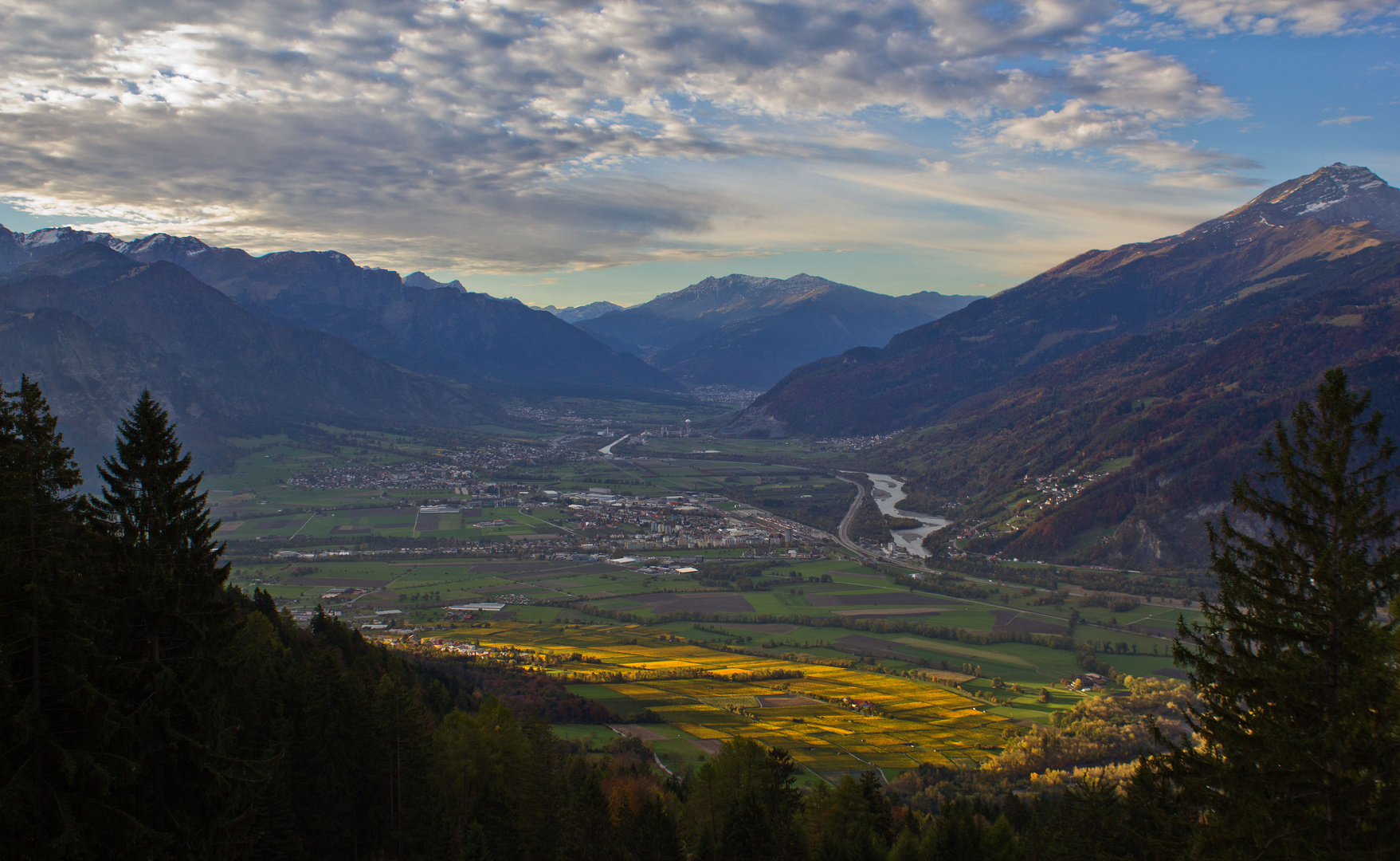 Graubündner Rheintal