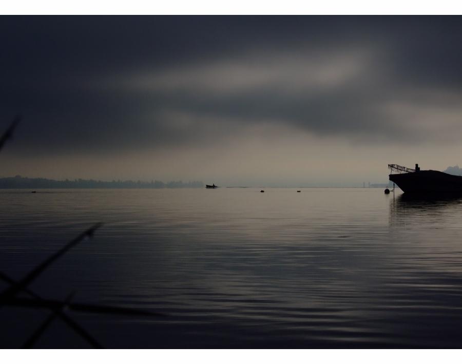graue Nebelstimmung -II