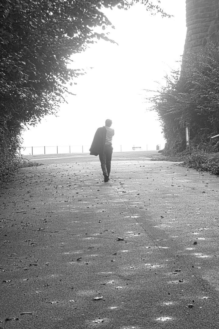 Grauer Spaziergang