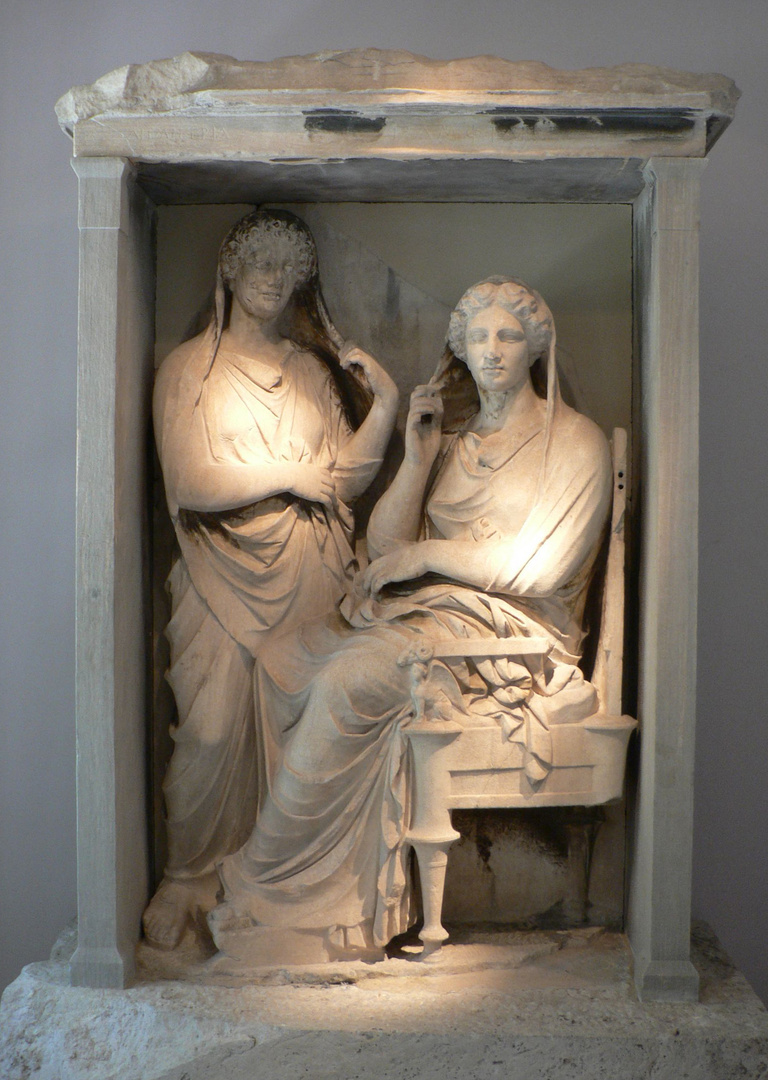 Grave Monument in Kalameikos (2)