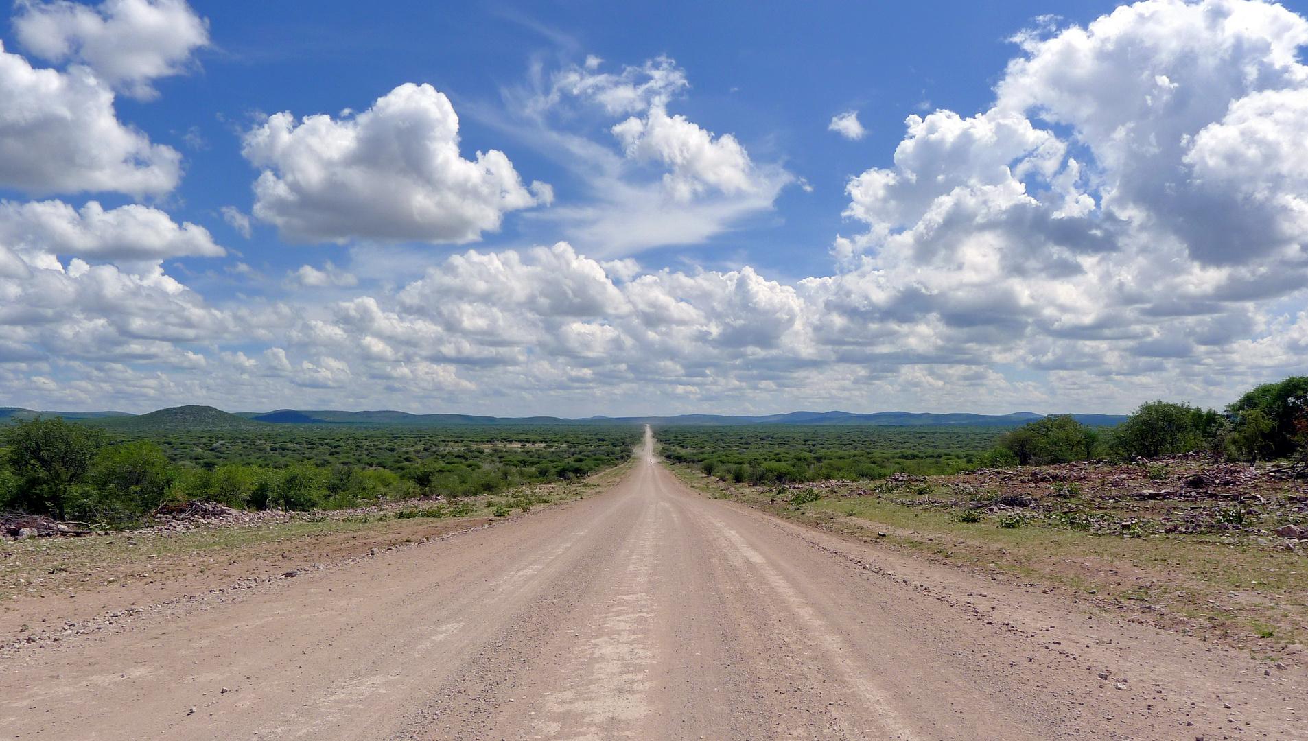 Gravel Road - Namibia