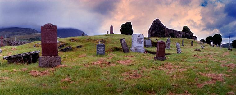 Graveyard Isle of Mull