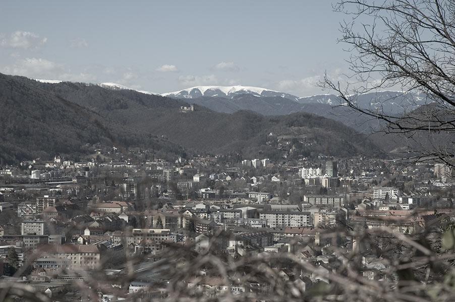 Graz vom Schloßberg