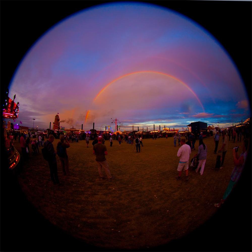 GREAT DORSET STEAM FAIR  is like a rainbow