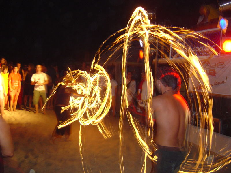 Great rings of fire