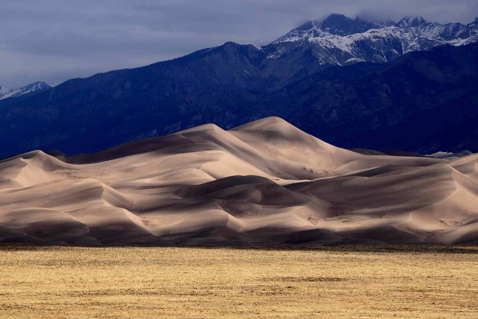 Great Sand Dunes Nationalpark - Schattenspiele