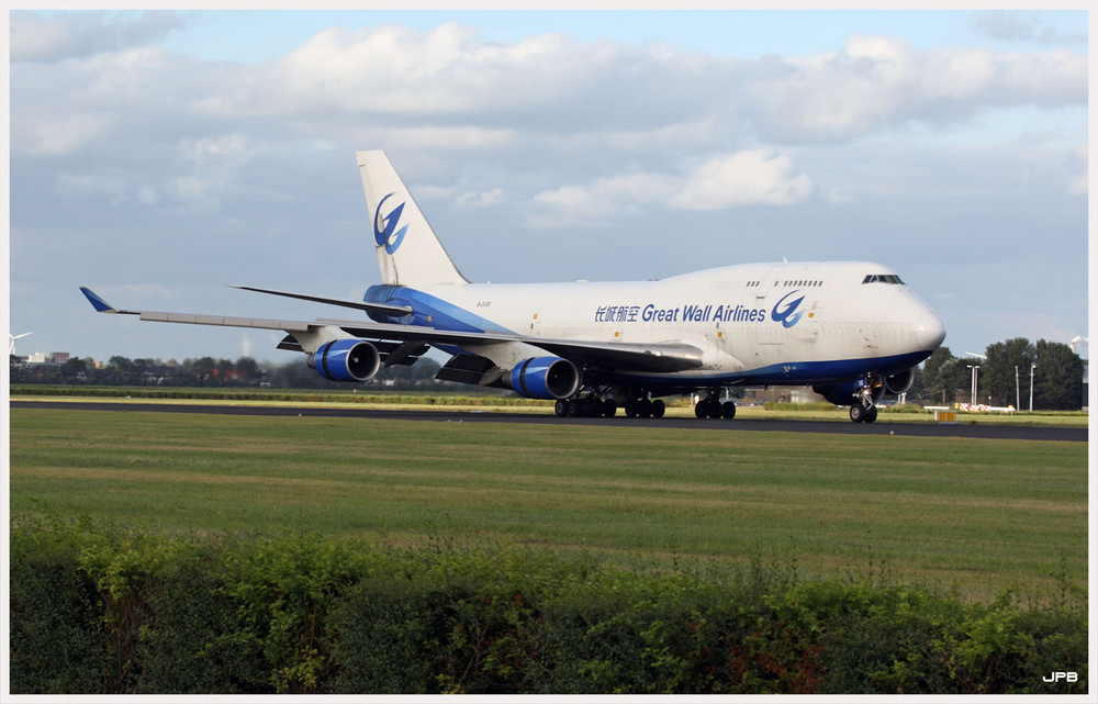 Great Wall Airlines Boeing 747-400