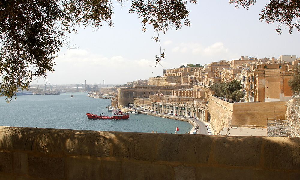 Greatings from Valletta