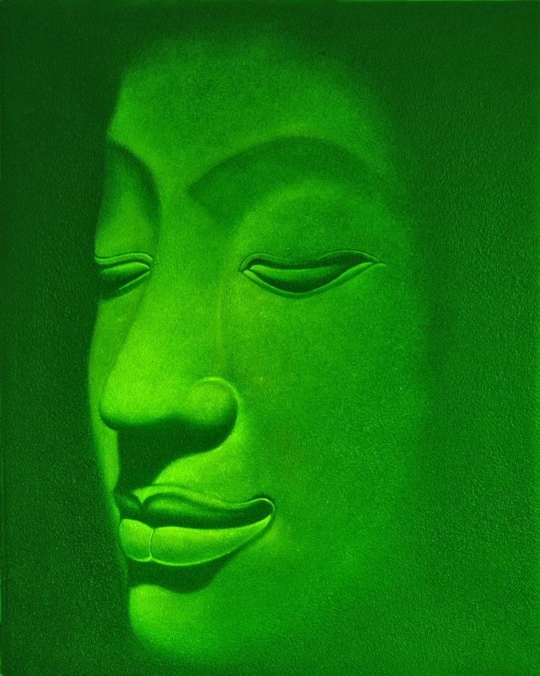 Green-Buddha