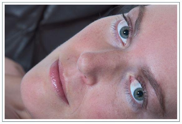 --green eyes--