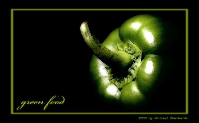 . . . GREEN FOOD . . .