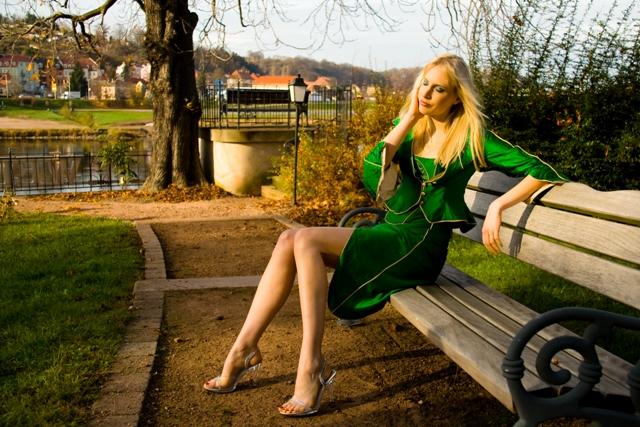 GREEN GIRL im Winter ;-)