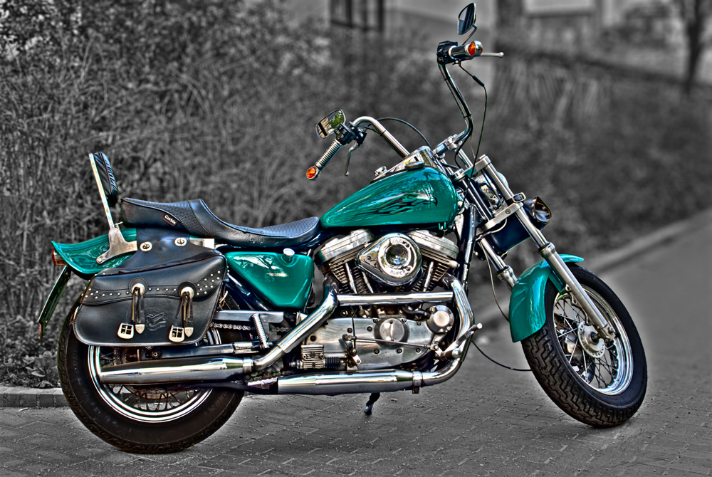 Green Harley