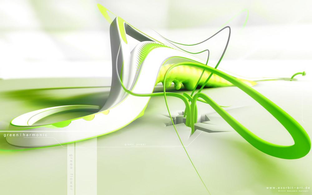 green harmonic