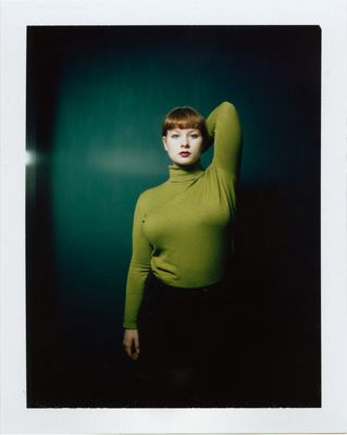 Green Porcelain, Polaroid-Scan farbig