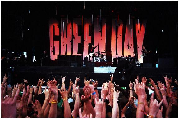 Greenday live RaR 2005