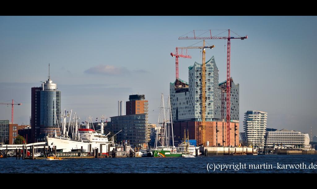 Greenpeace Warrior 3 zu Besuch in Hamburg