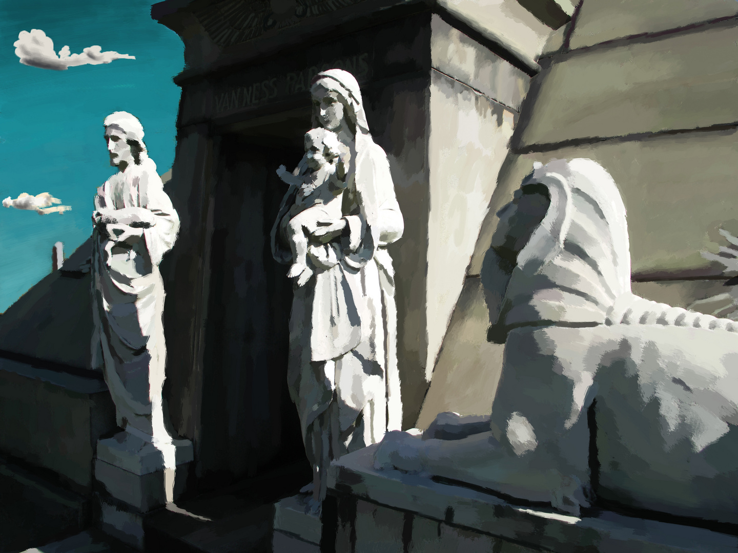 Greenwood Sphinx
