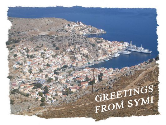 Greetings from Symi